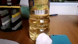 видео Как убрать супер клей с пластика