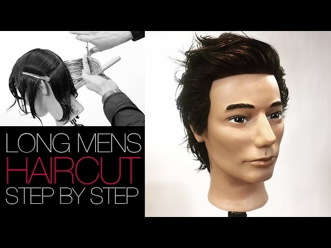 Mens Haircut Medium Length Step By Step Matt Beck Vlog 21 Youtube