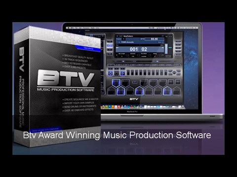 The best Professional Music Production Software 2017 | Btv Award Winning Music Production Demo