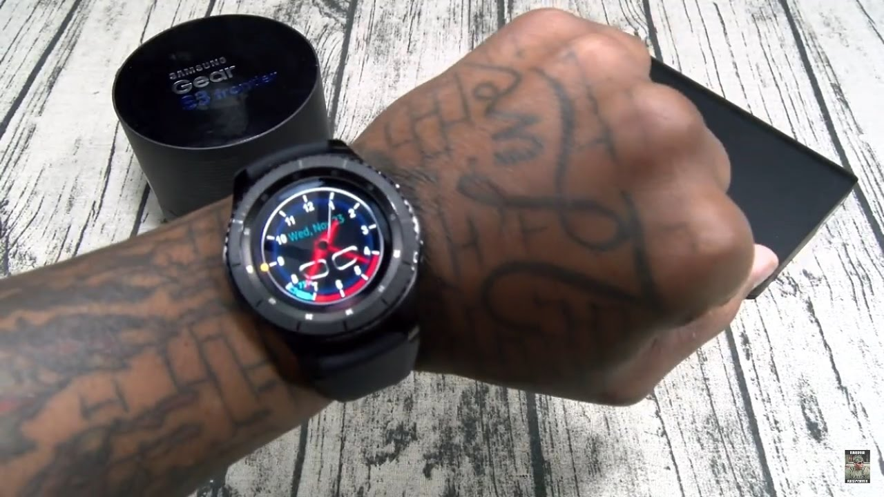 260ab7afb47 Samsung Gear S3 Frontier Unboxing and First Impressions - YouTube