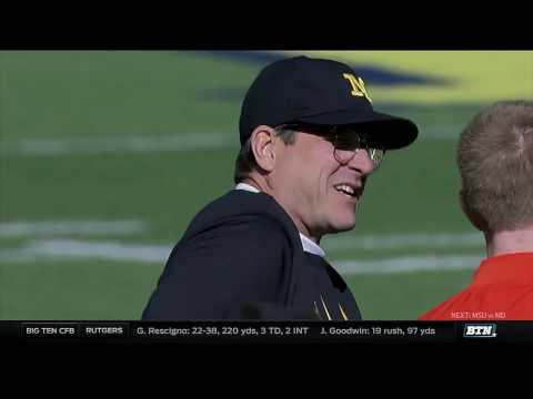 Illinois at Michigan - Football Highlights