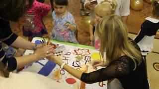 Дети рисуют осень общий детский плакат