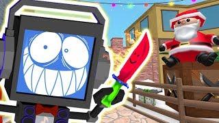 Roblox MURDER MYSTERY - Winter Update ► Fandroid the Musical Robot!