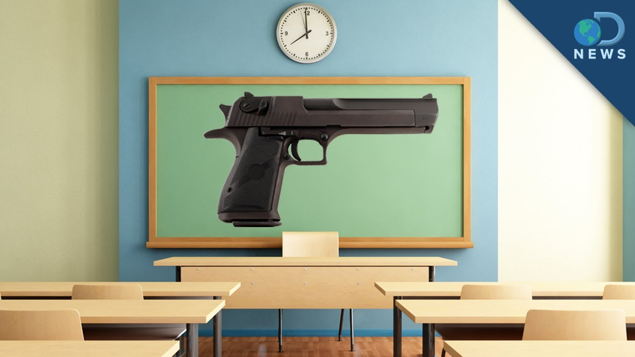 why should teachers carry guns in In 2013, alabama, kansas, south dakota, tennessee and texas enacted laws permitting school staff to carry guns on public school property, according to the council of state governments georgia was added to the mix this year.