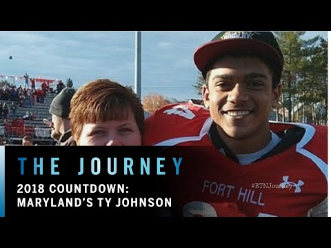 2018 Countdown: Ty Johnson | Maryland | Big Ten Football | The Journey