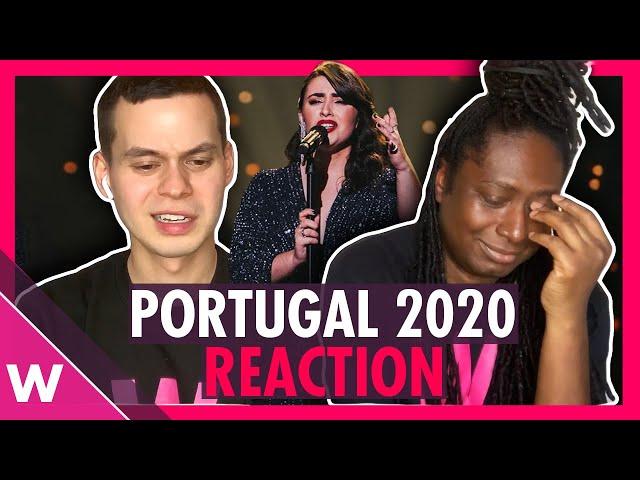 Portugal Eurovision 2020 Reaction - Elisa - Medo de Sentir