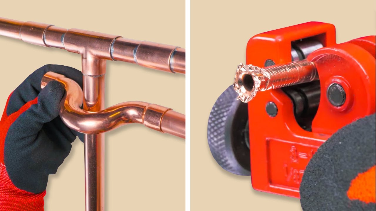 COPPER PIPES AND PVC PIPES HACKS you would like to know before