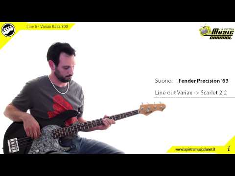 Line 6 Variax Bass 700 - La Pietra Music Channel