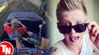 Youtuber Pedro Strapasson capota carro durante gravação de vídeo