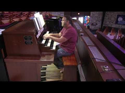"""ORGAN: Hymn 750 """"Wer nur den lieben Gott"""" from Lutheran Hymnal (LCMS)"""