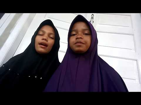 Moulidaturrahmi & Nurjannah Menyanyikan Lagu Ainal Mardhiah