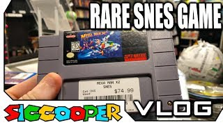 *Rare* Super Nintendo Game Acquired For The Store! | SicCooper