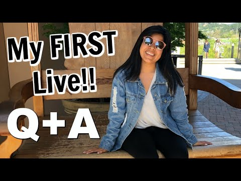 My First LIVE!! | Get To Know Me Q & A