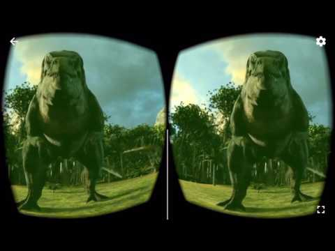 Dinosaur VR 360  Google Cardboard Virtual Reality 3D Gameplay 1080p