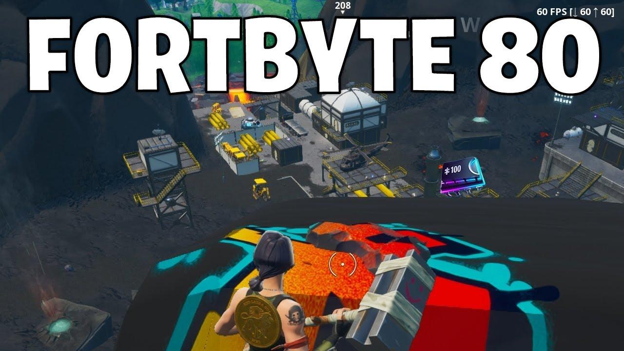 Fortbyte 80 Location - Fortnite - YouTube