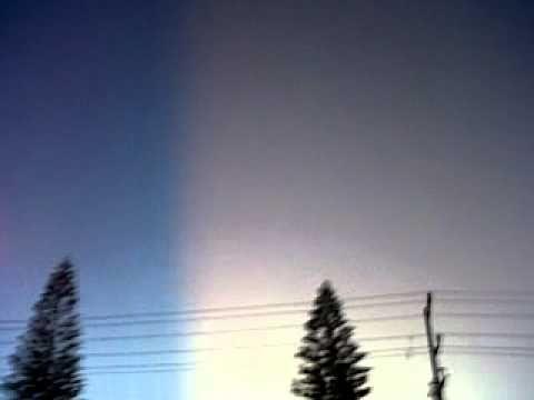 Fenomeno solar en guadalajara jal.