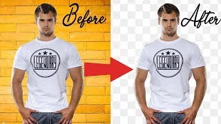 How To Cut Out an Image - Remove & Delete a Background In Photoshop
