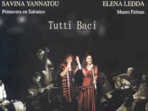 Savina Yannatou & Elena Ledda - Tutti Baci  [Full Album]- 2006