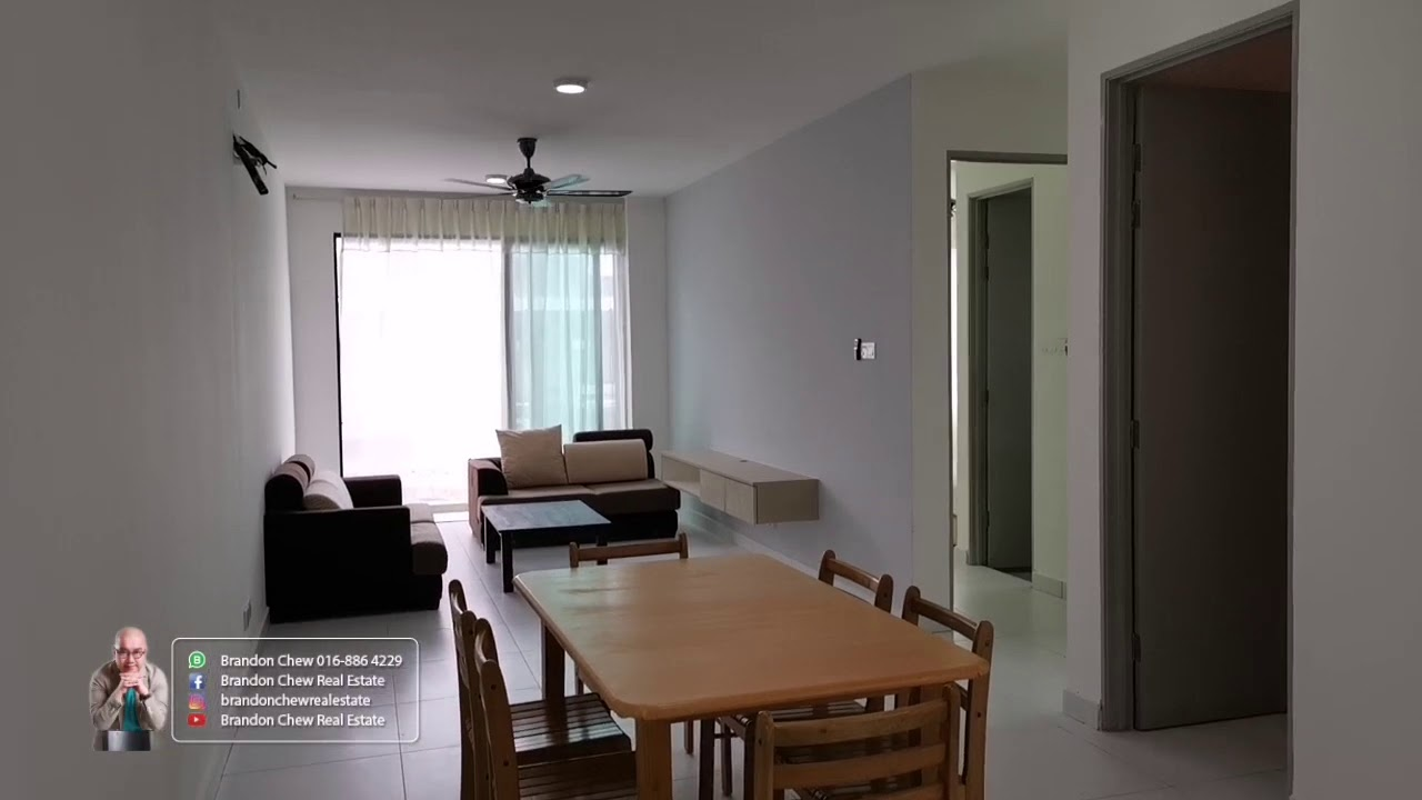 20200527 Matang Apartment 2b2r Fully Furnished Near Emart Metrocity For Rent At Rm1000 Youtube