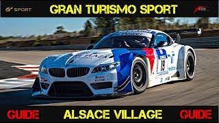 GT SPORT - TRAIL BRAKING & ALSACE VILLAGE GUIDE