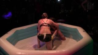 Celina Vs. Madison   Oil Wrestling   Season 2