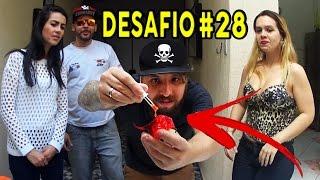 DESAFIO DO TROCA 02 - PIMENTA NUTELLA E COMIDA DE CACHORRO?? ERLANIA E VALENTINA