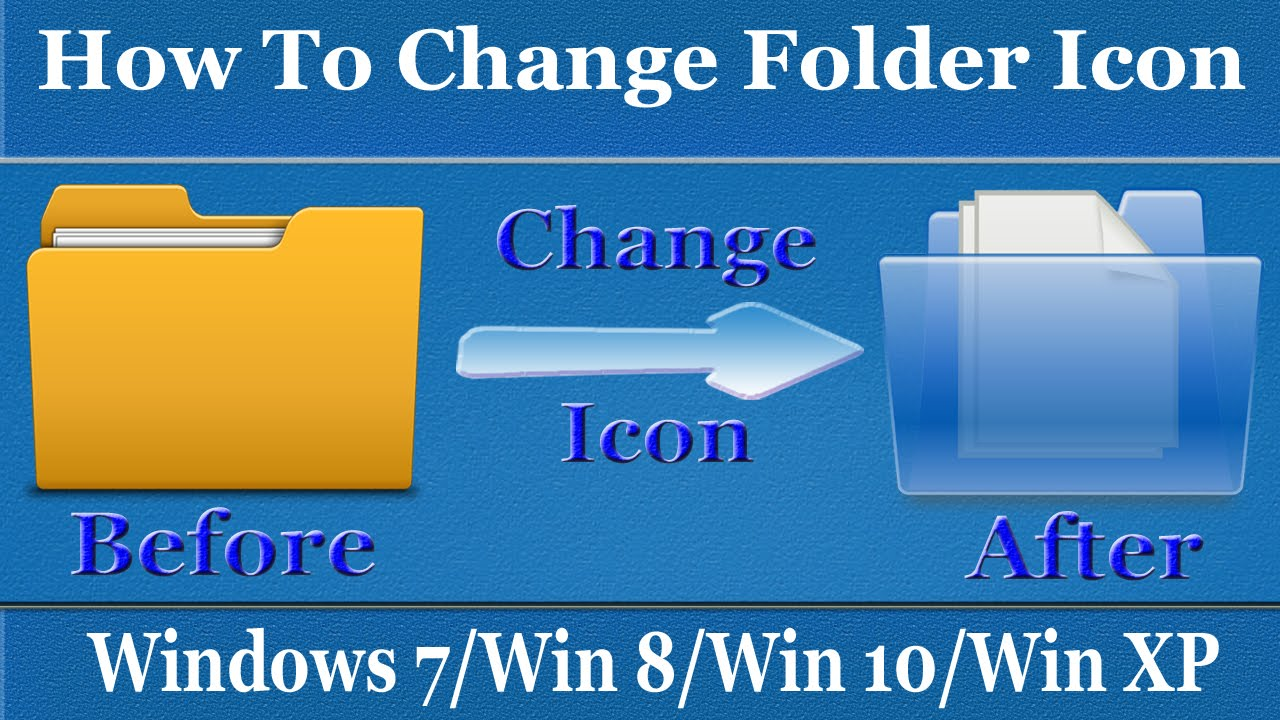 change folder icon windows 8.1