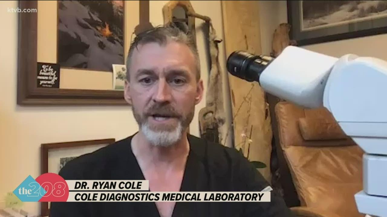 I haven't slept since yesterday morning': Idaho pathologist details life in  COVID-19 testing lab - YouTube