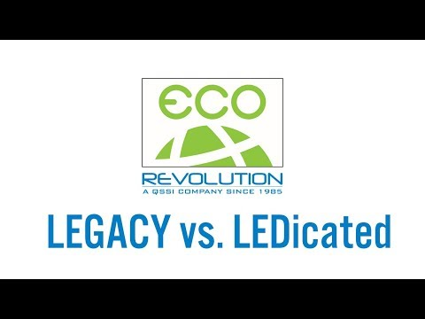 Eco-Revolution Legacy vs LEDicated LED Lighting