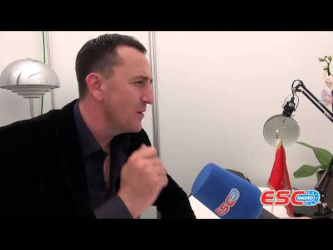 Sergej Cetkovic (Montenegro 2014) Interview ESC Radio 2014