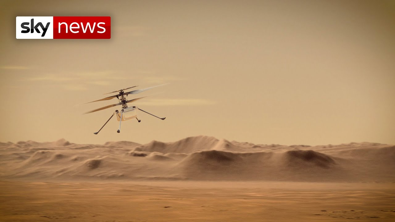 NASA's Ingenuity helicopter makes first historic flight on Mars