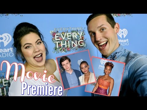 RED CARPET INTERVIEWS | EVERYTHING EVERYTHING MOVIE CAST