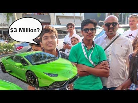 Asking Strangers How Much Lamborghini Costs Hilarious