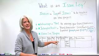 What Is An Issue Log