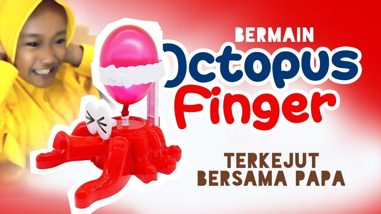 Unboxing & Bermain Octopus Finger Toys