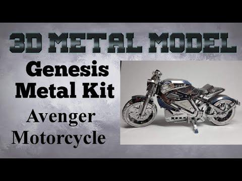 Genesis Metal Model Build - Avenger Motorcycle