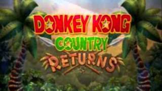 [OST Extended] Donkey Kong Country Returns - Life in the Mines Returns