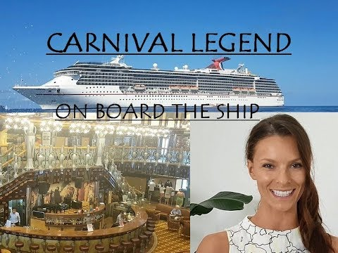 Pacific Islands Cruise on the Carnival Legend Ship- info & a walk-through tour ( 2017 )
