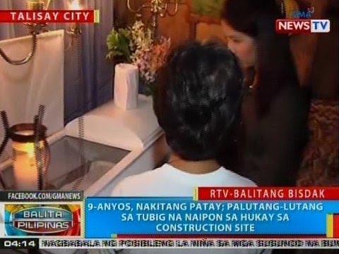 BP: 9-anyos, nakitang patay sa Talisay City, Cebu