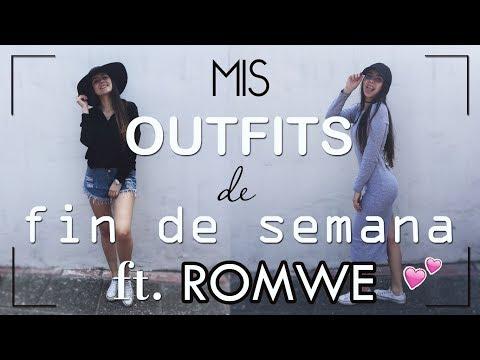 MIS OUTFITS DE FIN DE SEMANA FT. ROMWE ♡ | PAVLOVA CHARPENTIER ♡