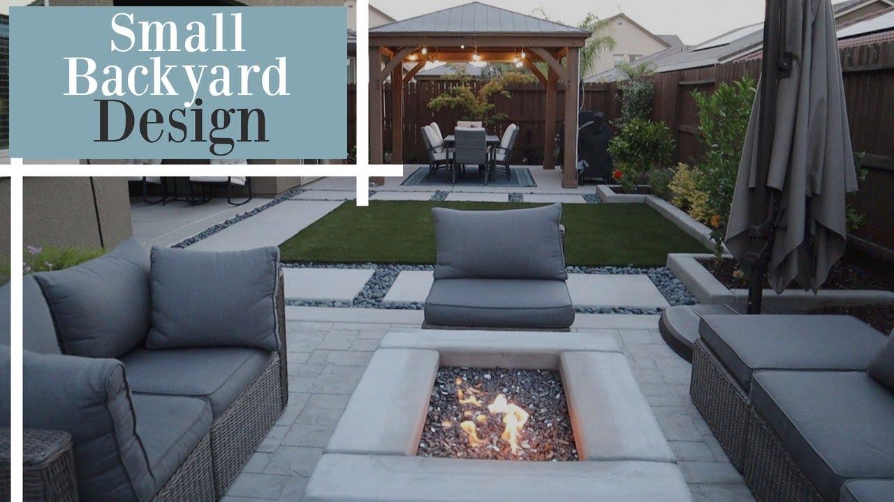 Small Backyard Design Ideas Backyard And Garden Tour Youtube
