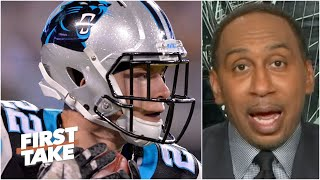 Stephen A. reacts to the Panthers making Christian McCaffrey the NFL's highestpaid RB | First Take