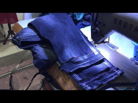 Điểm danh 3 cách tự bóp ống quần jean tại nhà cực đơn giản