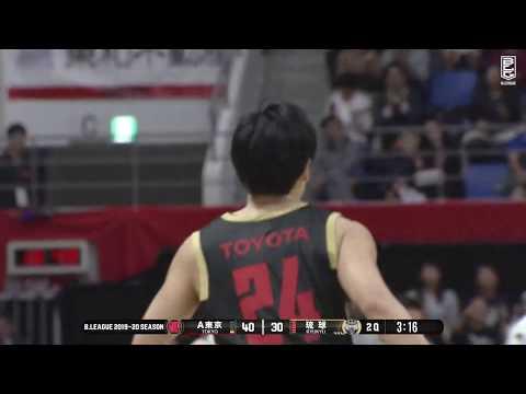 アルバルク東京vs琉球ゴールデンキングス|B.LEAGUE第8節 GAME1Highlights|11.09.2019 プロバスケ (Bリーグ)