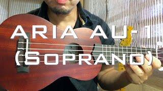 激安ウクレレ「ARIA AU-1」→ 品質の高さにビックリ【ウクレレ探訪#7】 thumbnail