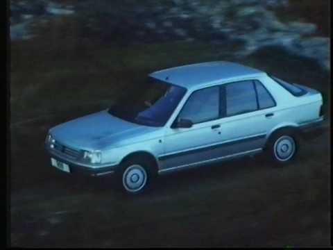 Peugeot 309 advert