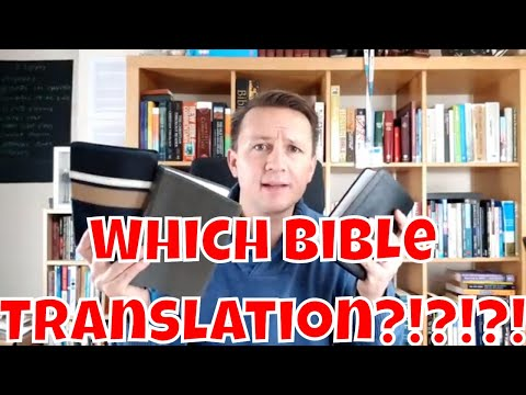Which Bible Translation Should I Use? ||| Personal Growth