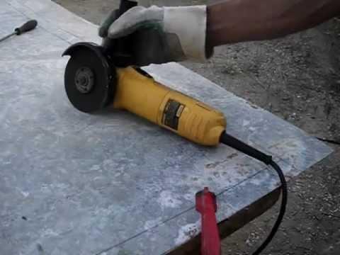 Corte de chapa galvanizada con amoladora o radial con for Cortar madera con radial