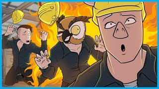 QUITTING YOUTUBE AND BECOMING FACTORY WORKERS! - GARRY'S MOD DEATHRUN FUNNY MOMENTS FACTORY EDITION!