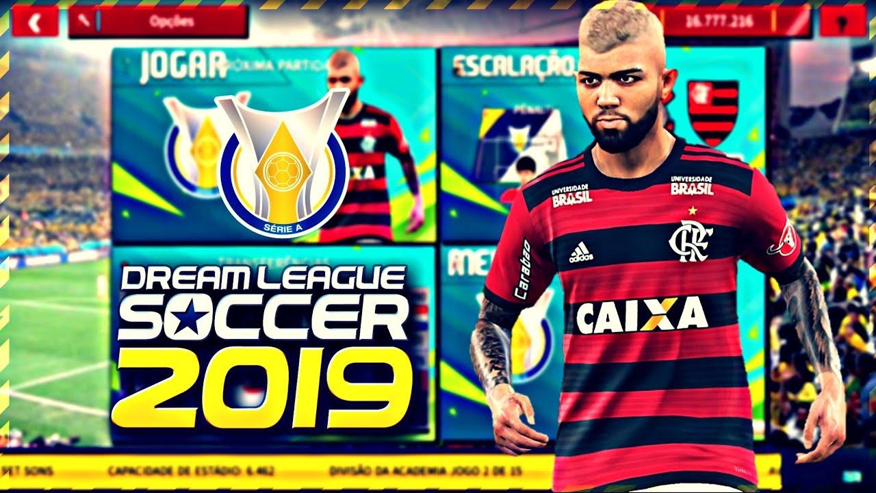 Atualizado! Dream League Soccer Brasileirão 2019 V2 | Gráficos em HD versão  leve 300mb (Offline)